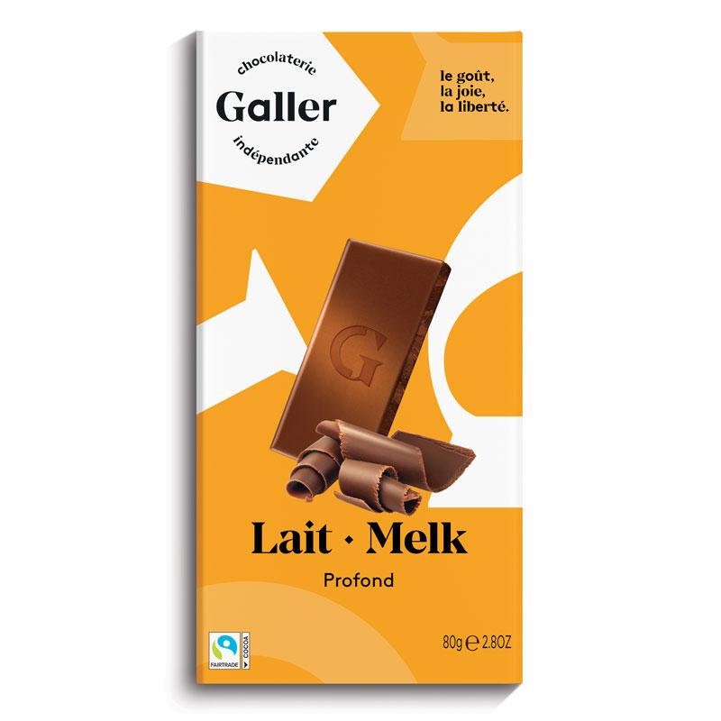 Tablets タブレットシリーズ:Lait・Melk ミルクチョコレート