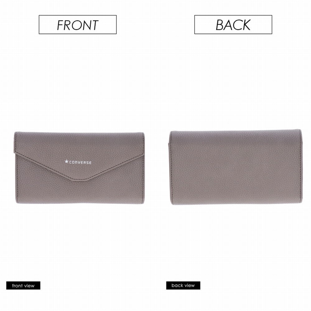 FAKE LEATHER LONG WALLET POUCH