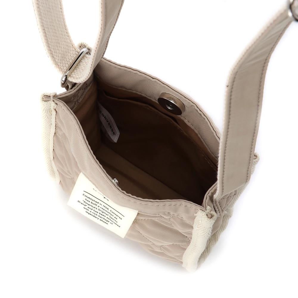 QUILTING PIPING MINI SHOULDER BAG