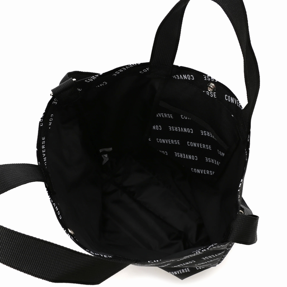 LOGO PRINT 2WAY SHOULDER BAG