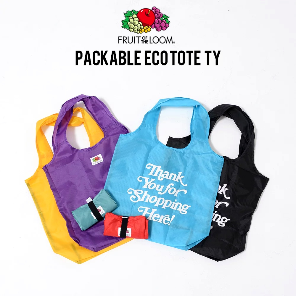 PACKABLE ECO TOTE TYSH