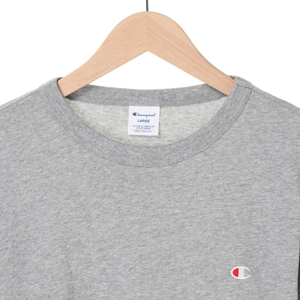 ワンポイント 刺繍 ロングスリーブTシャツ C3-P401