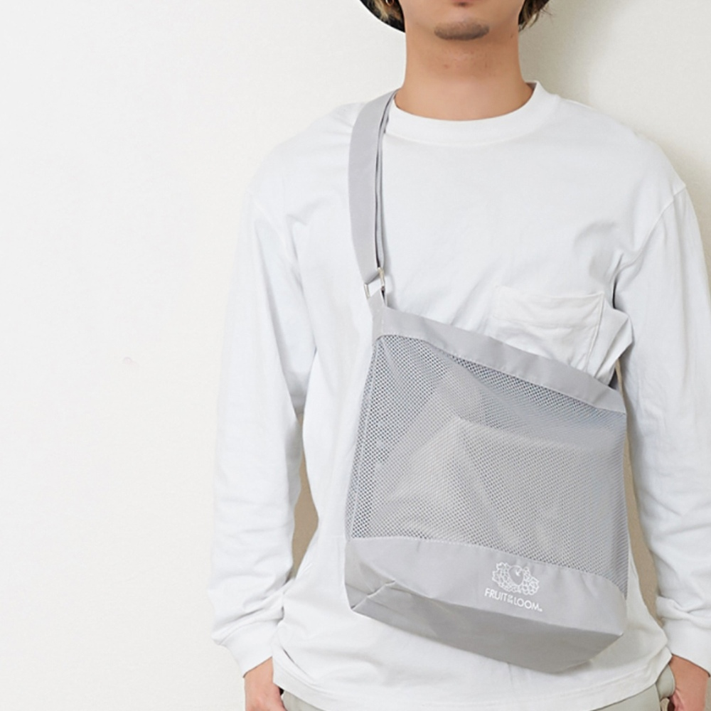 MESH SHOULDER BAG