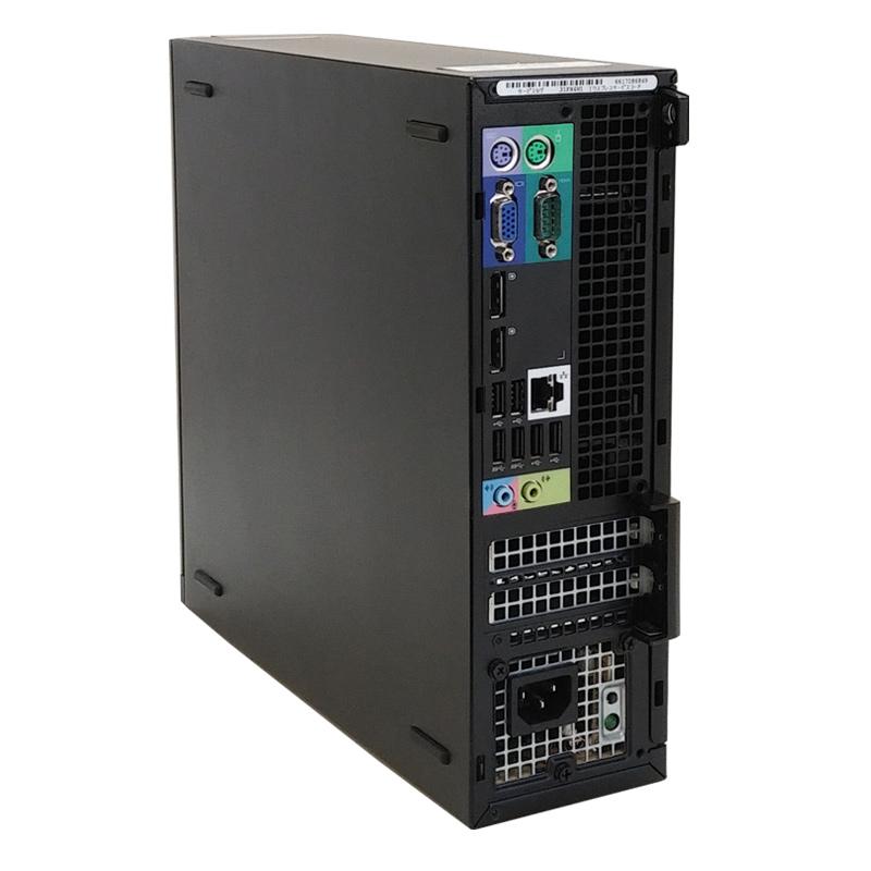 中古パソコン 【 Microsoft Office ( Word Excel )搭載】 Windows10 DELL OptiPlex 990 SFF Core i5-3.3Ghz メモリ8GB HDD500GB DVDROM (SD15-10of) 3ヵ月保証 中古デスクトップパソコン