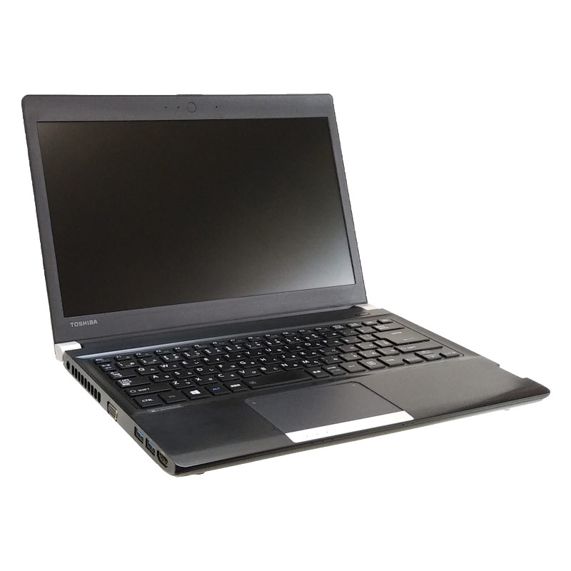 中古ノートパソコン Microsoft Office搭載 東芝 Dynabook R734/K Windows8.1 Corei3 4000M メモリ4GB HDD320GB DVDマルチ 13.3型 無線LAN (1901of) 3ヵ月保証 / 中古パソコン