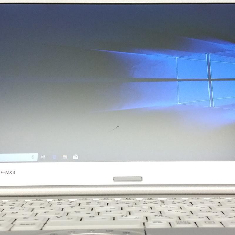 【訳あり】 中古ノートパソコン Windows10 Panasonic Let's note CF-NX4 Core i3-2.1Ghz メモリ8GB HDD320GB 12.1型 HD+ 無線LAN WPS Office (BP53hWiw2) 3ヵ月保証 中古パソコン
