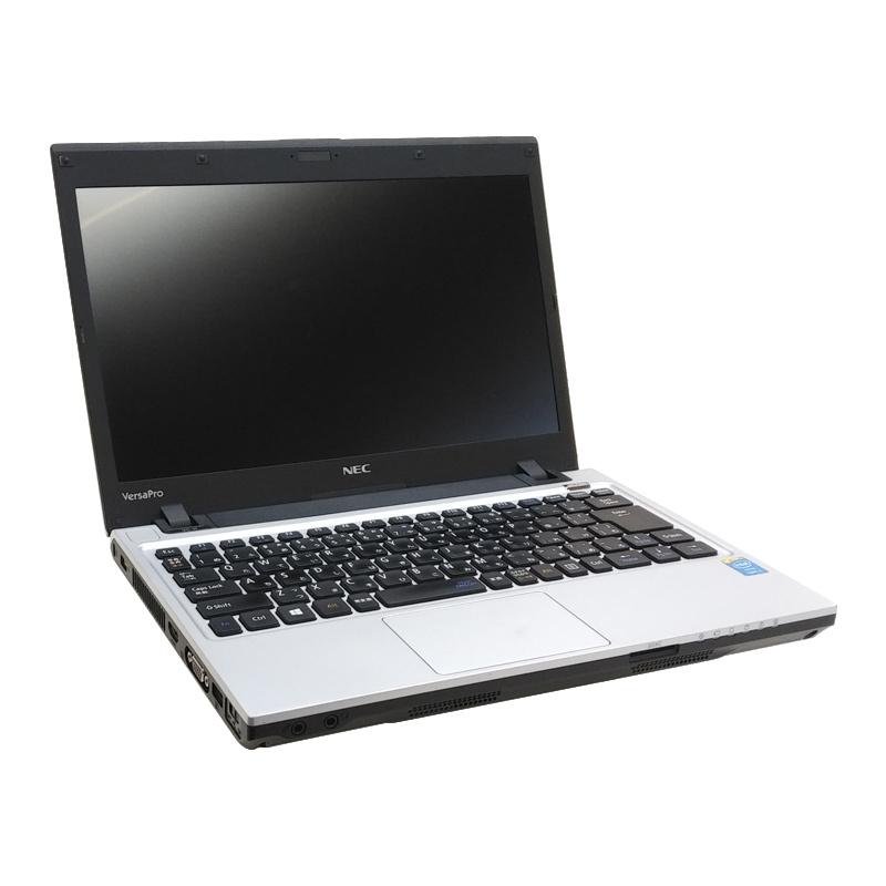 中古ノートパソコン NEC VersaPro VK25L/C-M Windows10 Corei3-2.5Ghz メモリ4GB HDD500GB 13.3型 無線LAN WPS Office (BN53h-10Wi) 3ヵ月保証 / 中古ノートパソコン 中古パソコン