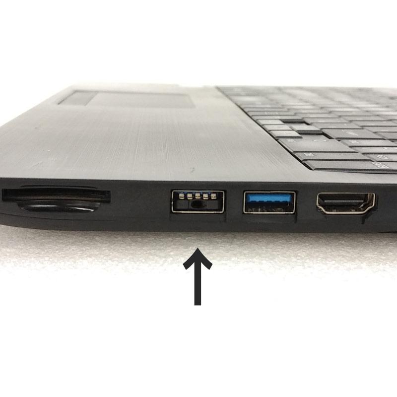 中古ノートパソコン 東芝 Dynabook B55/A Windows10Pro Corei5-2.3Ghz メモリ4GB HDD500GB DVDROM 15.6型 WPS Office (KT65tw) 3ヵ月保証 / 中古ノートパソコン 中古パソコン