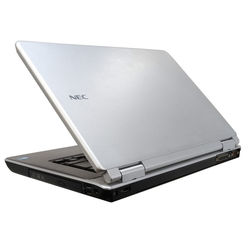 中古ノートパソコン NEC VersaPro VJ25A/A-9 WindowsXP Core2Duo P8700 メモリ4GB HDD160GB DVDマルチ 15.6型 (P59x) 3ヵ月保証 / 中古パソコン