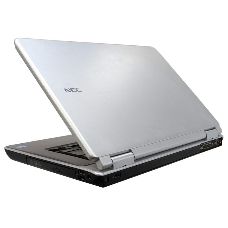 中古ノートパソコン Microsoft Office搭載 NEC VersaPro VJ25A/A-9 WindowsXP Core2Duo P8700 メモリ4GB HDD160GB DVDマルチ 15.6型 (P59xof) 3ヵ月保証 / 中古パソコン