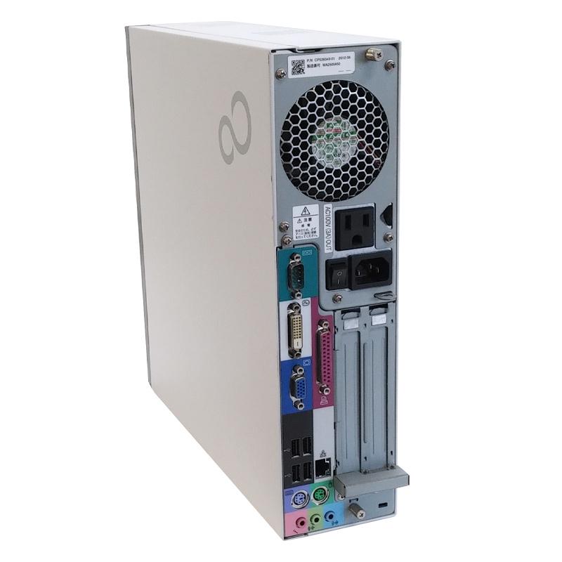 富士通 ESPRIMO D581/D  Microsoft Office(Word, Excel)付 Windows XP PentiumG630 メモリ2GB HDD250GB DVDROM (YF12xof) 3ヵ月保証 中古デスクトップパソコン