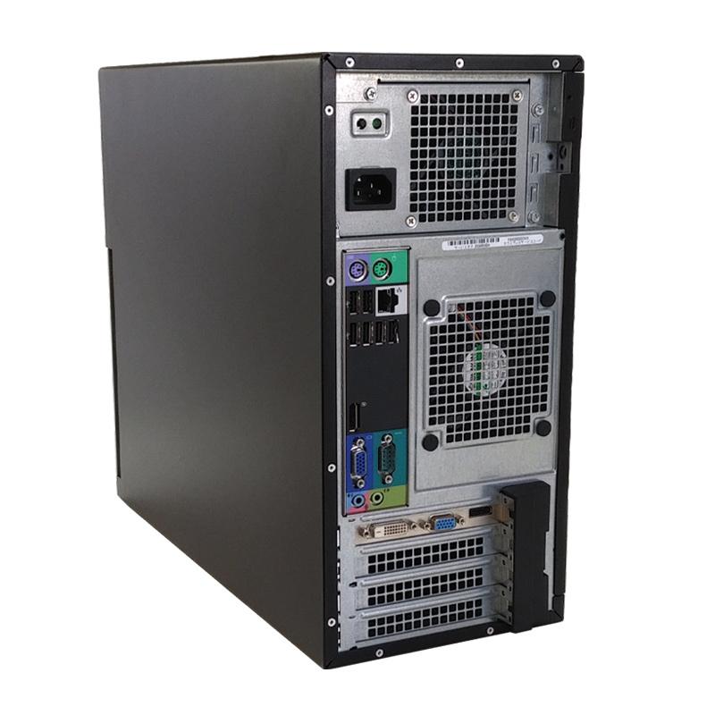 中古パソコン 【 Microsoft Office ( Word Excel )搭載】 Windows10 DELL OptiPlex 990 MT Core i7-3.4Ghz メモリ16GB SSD256GB DVDマルチ Radeon HD6670 [19型液晶付き] (YD17rsm-10L19of) 3ヵ月保証 中古デスクトップパソコン