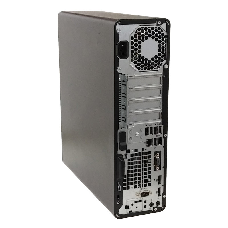 中古パソコン 店長オススメSSDデスク Windows10Pro Corei5 8500 メモリ16GB SSD256GB DVDROM WPS Office付き [液晶モニタ付き](2112L19) 3ヵ月保証 / 中古デスクトップパソコン