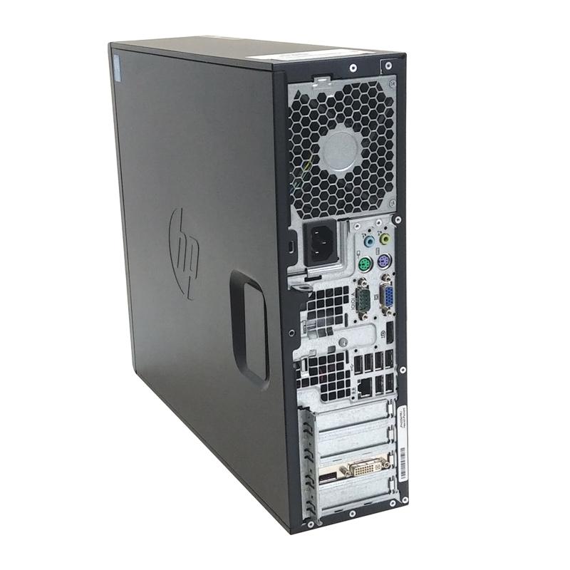中古パソコン 【 Microsoft Office ( Word Excel )搭載】 Windows10 HP Z210 SFF WorkStation XeonE3-1270 メモリ4GB HDD250GB DVDROM Quadro600 [19型液晶付き] (YH19q-10L19of) 3ヵ月保証 中古デスクトップパソコン