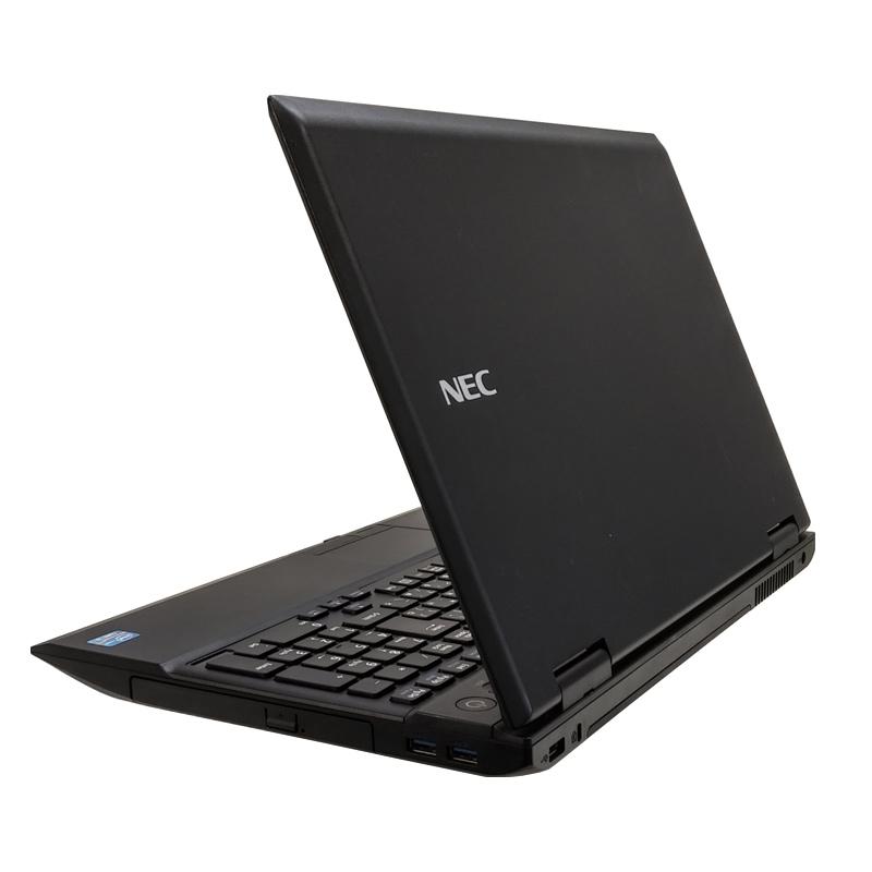 中古ノートパソコン Microsoft Office搭載 NEC VersaPro VK18E/X-G Windows10 Celero-1.8Ghz メモリ4GB SSD128GB DVDROM 15.6型 無線LAN (IN30ts-10kkof) 3ヵ月保証 / 中古ノートパソコン 中古PC