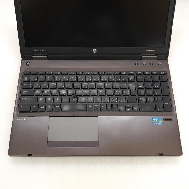 テンキー付き 中古ノートパソコン 【 Microsoft Office ( Word Excel )搭載】 Windows7 HP ProBook 6570B Core i5-2.6Ghz メモリ8GB HDD320GB DVDマルチ 15.6型 無線LAN (IH25hmcWiof) 3ヵ月保証 中古パソコン