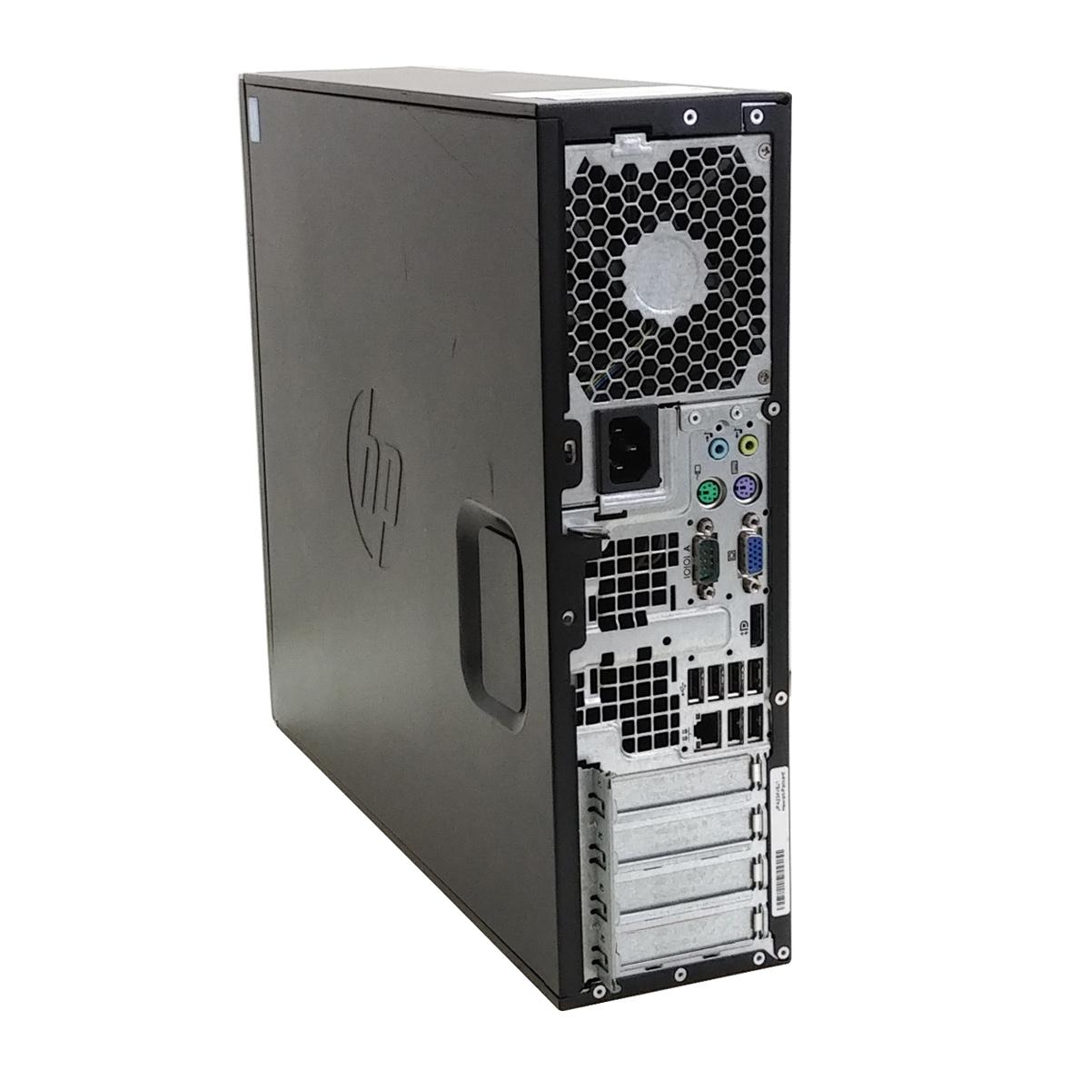 中古パソコンHP 6200 Pro SFF WindowsXP Corei3-3.3Ghz メモリ4GB HDD250GB DVDマルチ WPS Office (ZH13xm) 3ヵ月保証 / 中古デスクトップパソコン