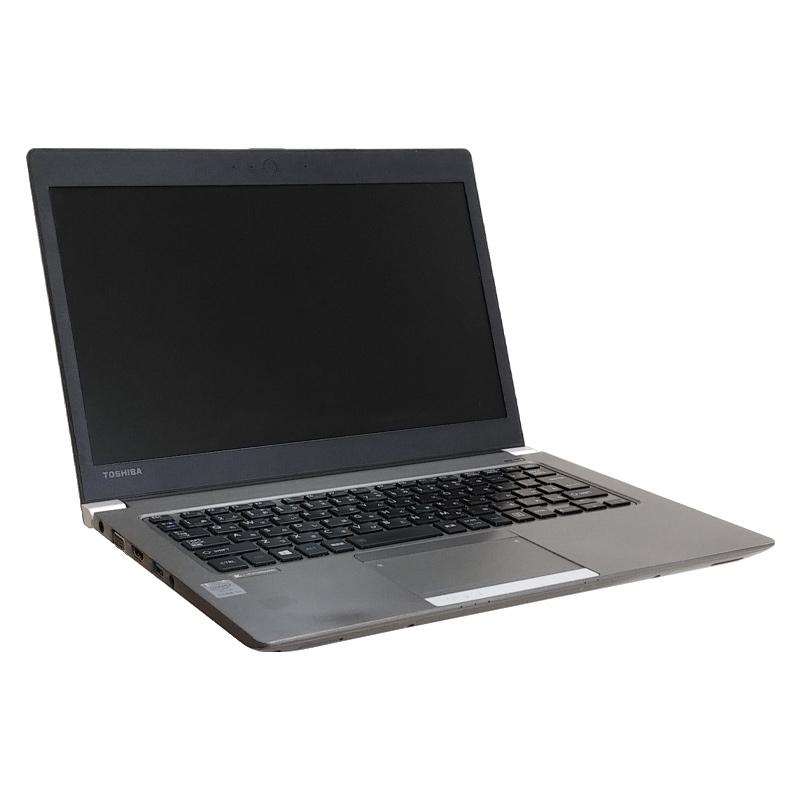 東芝 Dynabook R63/P 【訳あり】 Windows10Pro Core i3-2.0Ghz メモリ4GB SSD128GB 13.3型 無線LAN WPS Office (ET53Wiw) 3ヵ月保証 中古ノートパソコン