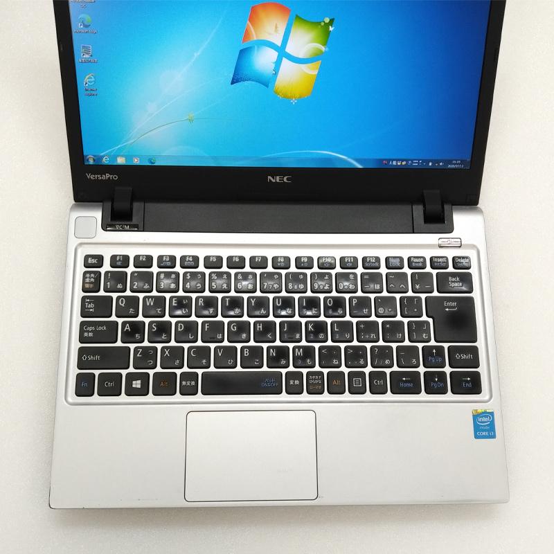 中古ノートパソコン Microsoft Office搭載 NEC VersaPro VK25L/C-M Windows7 Corei3-2.5Ghz メモリ4GB HDD500GB 13.3型 無線LAN (BN53hWiof) 3ヵ月保証 / 中古ノートパソコン 中古PC