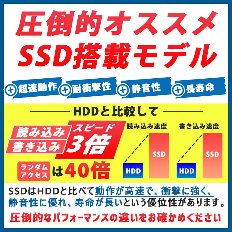 中古ノートパソコン NEC VersaPro VJ22T/G-L Windows10Pro Corei5-2.2Ghz メモリ4GB SSD128GB 13.3型 無線LAN WPS Office (EN55swi) 3ヵ月保証 / 中古ノートパソコン 中古パソコン