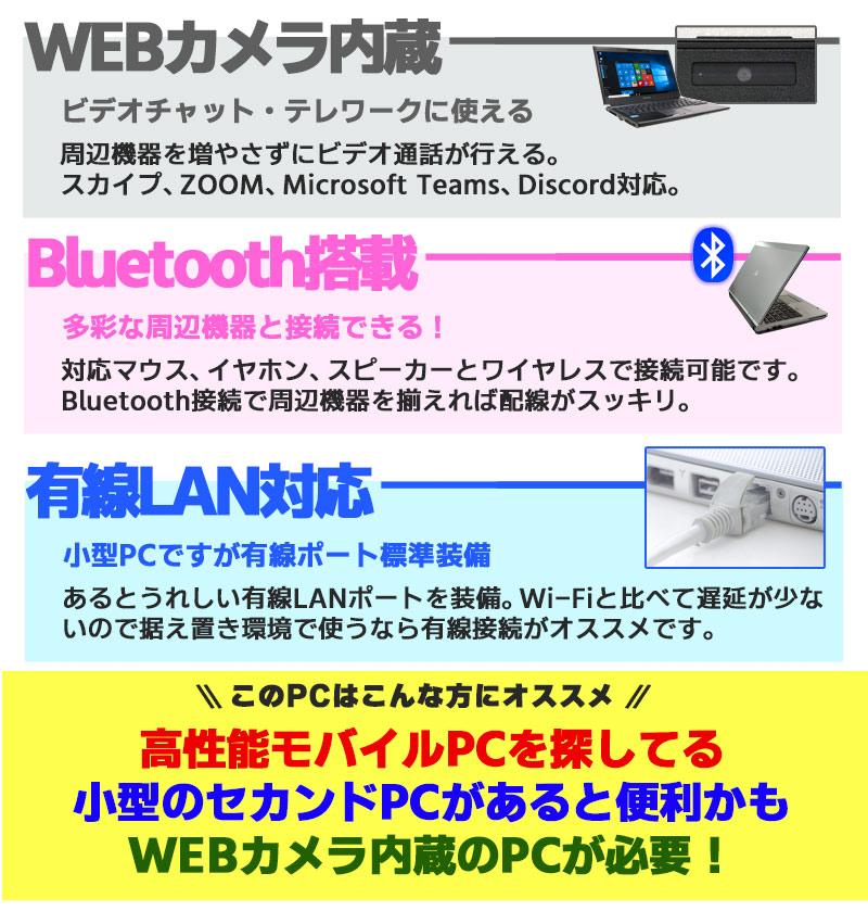中古ノートパソコン Microsoft Office搭載 Lenovo ThinkPad X250 Windows10Pro Corei5 5200U メモリ8GB HDD500GB 12.5型 無線LAN (1935of) 3ヵ月保証 / 中古パソコン