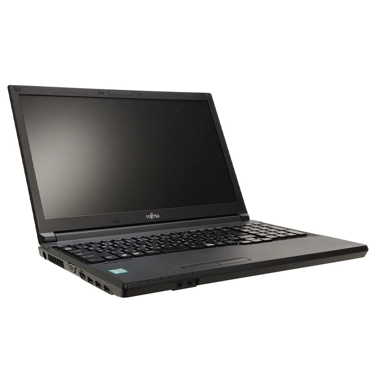 中古ノートパソコン 富士通 店長オススメ富士通ノート  Windows10Pro Corei3 6100U メモリ8GB SSD128GB DVDマルチ 15.6型 無線LAN WPS Office (1937) 3ヵ月保証 / 中古パソコン