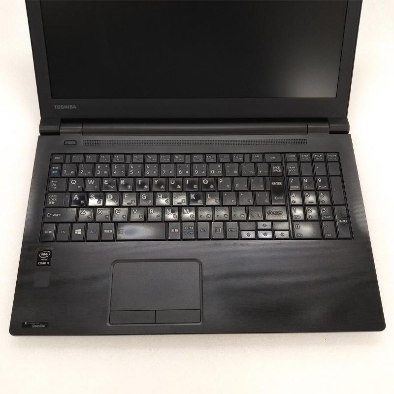 テンキー付き 中古ノートパソコン Windows10Pro 東芝 Dynabook Satellite R35/P Core i3-2Ghz メモリ4GB SSD128GB DVDマルチ 15.6型 無線LAN WEBカメラ WPS Office (IT54tmscWi) 3ヵ月保証 中古パソコン