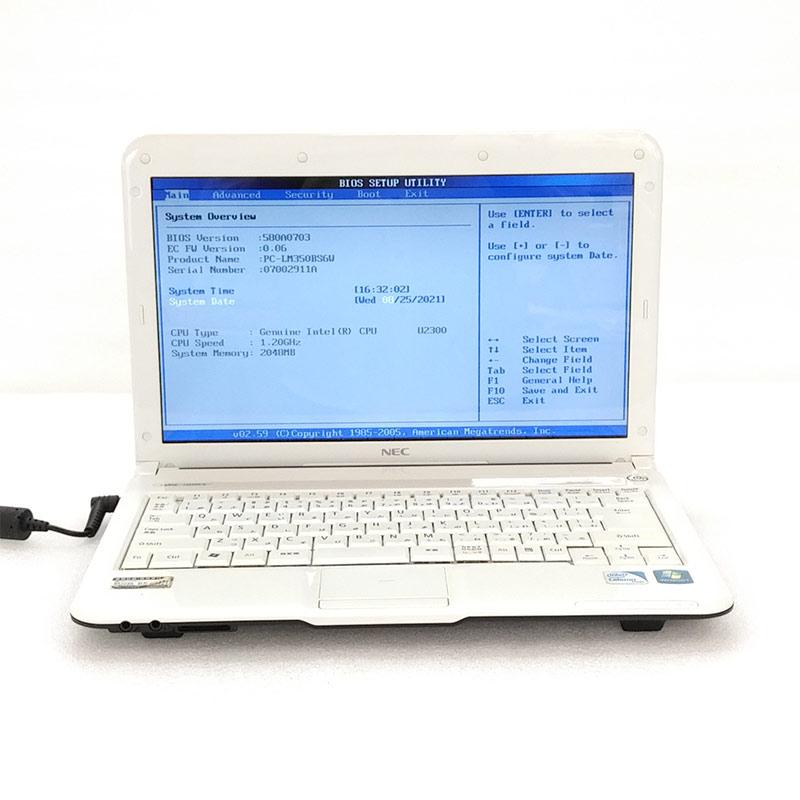 【ジャンク品】 NEC LaVie M LM350/BS6W ジャンクPC ジャンクパソコン ACアダプタ付き 保証無し