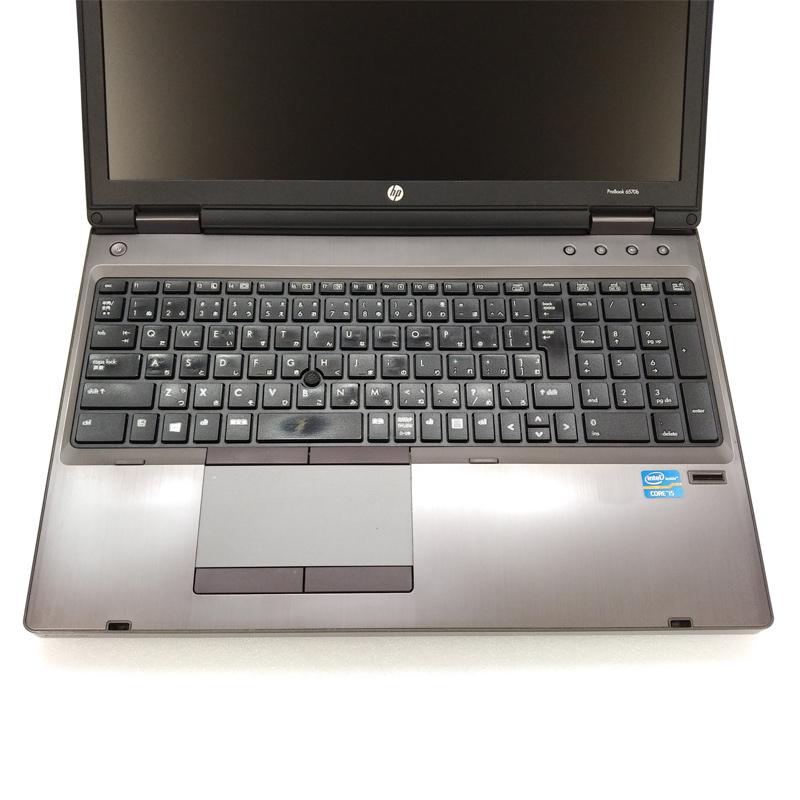 中古ノートパソコン 【 Microsoft Office ( Word Excel )搭載】 Windows7 HP ProBook 6570B Core i5-2.8Ghz メモリ8GB HDD320GB DVDマルチ 15.6型 無線LAN (IH28hmcWiof) 3ヵ月保証 中古パソコン