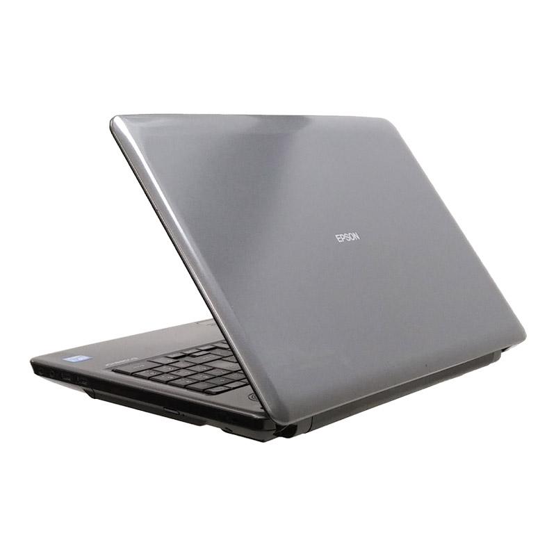 中古ノートパソコン EPSON Endeavor NJ3700E Windows10 Corei3-2.3Ghz メモリ4GB HDD500GB DVDマルチ 15.6型 無線LAN WPS Office (IE23tm-10wi) 3ヵ月保証 / 中古ノートパソコン 中古パソコン