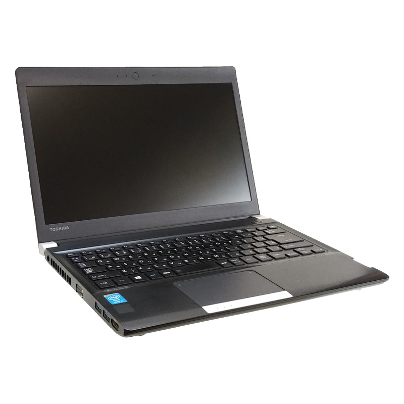 中古ノートパソコン Windows8.1 東芝 Dynabook R734/K Core i5-2.6Ghz メモリ4GB HDD320GB 13.3型 WPS Office (BT358) 3ヵ月保証 中古パソコン