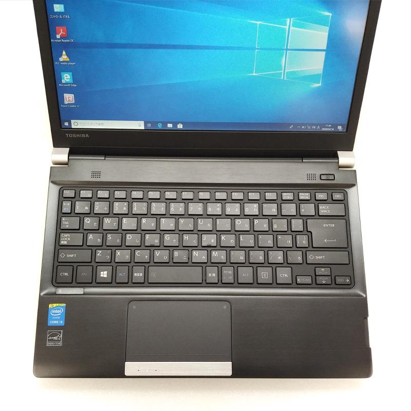 中古ノートパソコン Windows10Pro 東芝 Dynabook R734/M Core i5-2.7Ghz メモリ4GB HDD320GB DVDマルチ 13.3型 無線LAN WEBカメラ WPS Office (BT45mcWi) 3ヵ月保証 中古パソコン