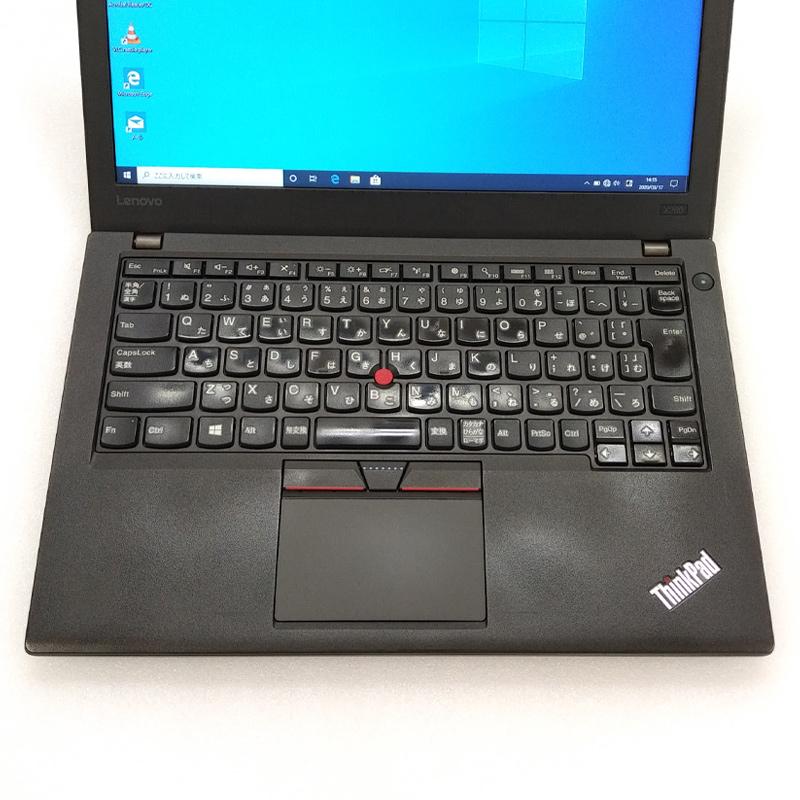中古ノートパソコン 【 Microsoft Office ( Word Excel )搭載】 Windows10Pro Lenovo ThinkPad X260 Core i3-2.3Ghz メモリ4GB SSD128GB 12.5型 無線LAN WEBカメラ (BL63scWiof) 3ヵ月保証 中古パソコン