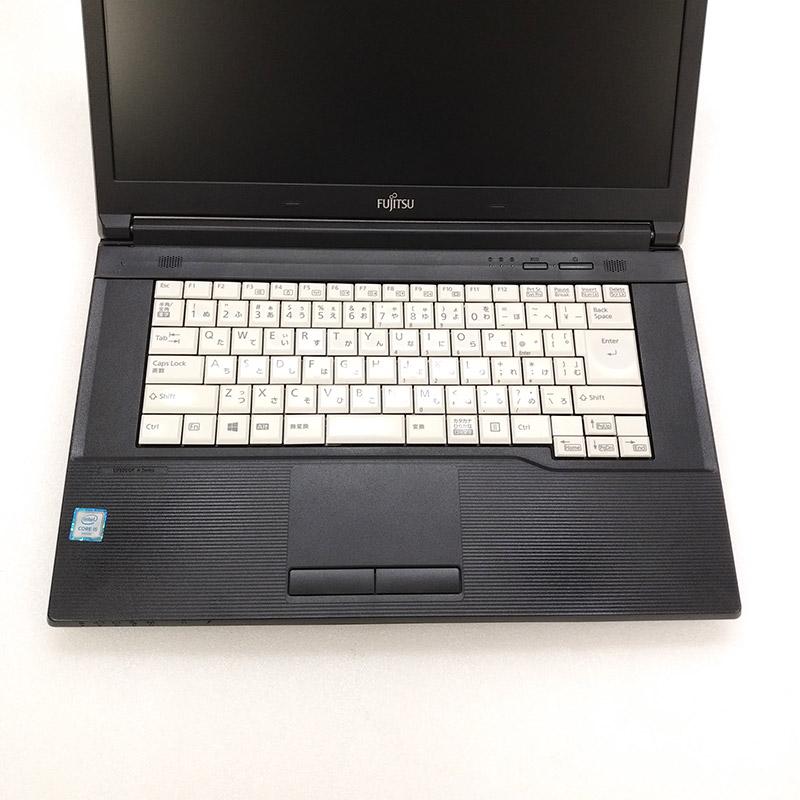 中古ノートパソコン 富士通 LIFEBOOK A576/P Windows10Pro Corei5-2.4Ghz メモリ4GB SSD256GB DVDマルチ 15.6型 無線LAN WPS Office (IF65smwiw) 3ヵ月保証 / 中古ノートパソコン 中古パソコン