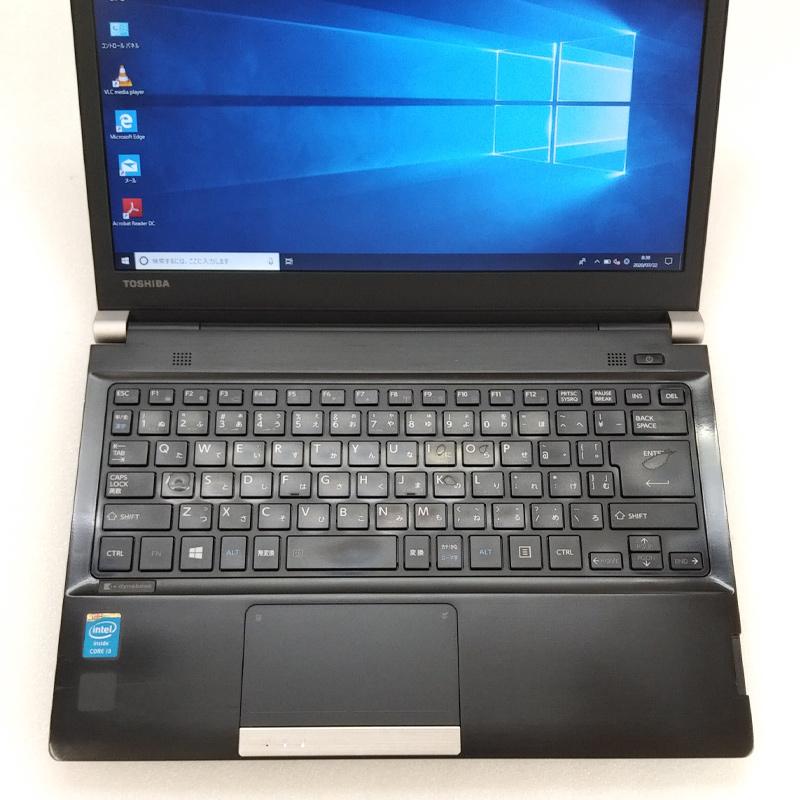 中古ノートパソコン 東芝 Dynabook R734/K Windows10 Corei3-2.4Ghz メモリ4GB HDD320GB 13.3型 無線LAN WPS Office (BT43-10cWiw) 3ヵ月保証 / 中古ノートパソコン 中古PC