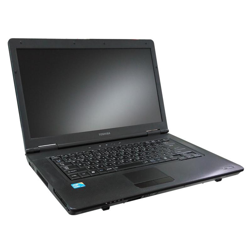 中古ノートパソコン Windows XP 東芝 Dynabook Satellite L41 Core i3-2.26Ghz メモリ4GB HDD160GB DVDマルチ 15.6型 無線LAN WPS Office (IT03mxWi) 3ヵ月保証 中古パソコン