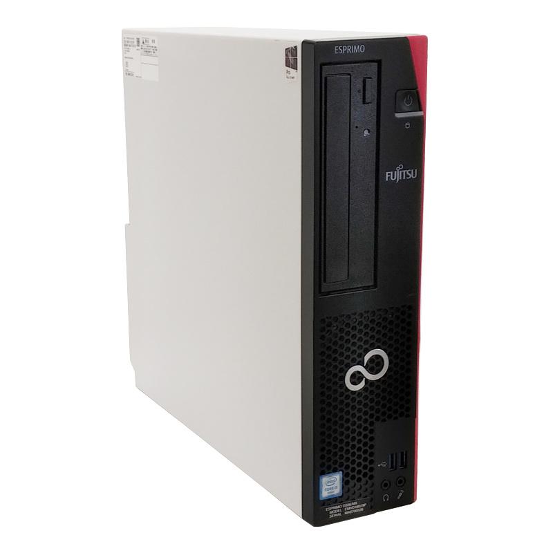 【新品SSD搭載】 中古パソコン 富士通 ESPRIMO D556/M Windows10Pro Corei3-3.7Ghz メモリ8GB SSD256GB DVDマルチ WPS Office (YF63sm) 3ヵ月保証 / 中古デスクトップパソコン