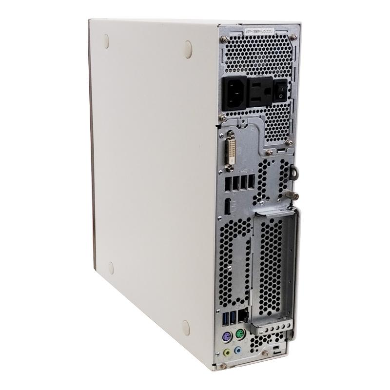 【新品SSD搭載】 中古パソコン Microsoft Office搭載 富士通 ESPRIMO D556/M Windows10Pro Corei3-3.7Ghz メモリ8GB SSD256GB DVDマルチ (YF63smof) 3ヵ月保証 / 中古デスクトップパソコン