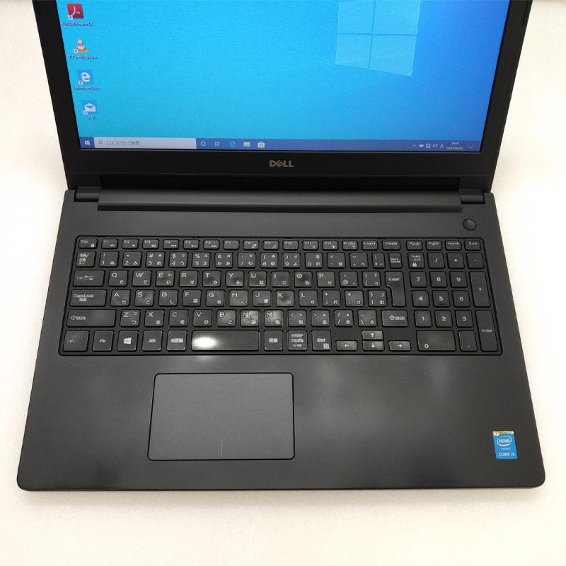テンキー付き 中古ノートパソコン Windows10Pro DELL Latitude 3560 Core i3-2.0Ghz メモリ8GB SSD128GB 15.6型 無線LAN WEBカメラ 【光学ドライブ無し】 WPS Office (LD63scWi) 3ヵ月保証 中古パソコン