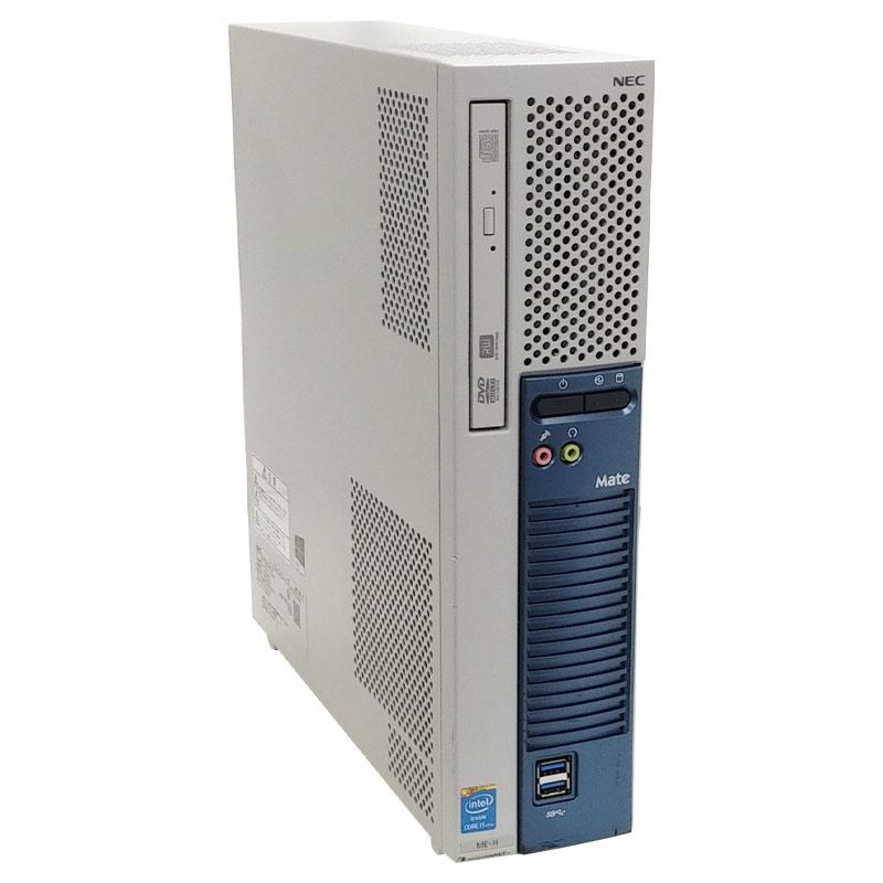 中古パソコンNEC Mate MK36L/E-M Windows10Pro Corei3-3.6Ghz メモリ4GB HDD250GB DVDROM WPS Office (ZN53) 3ヵ月保証 / 中古デスクトップパソコン