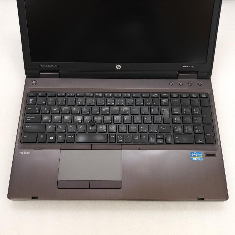 テンキー付き 中古ノートパソコン 【 Microsoft Office ( Word Excel )搭載】 Windows7 HP ProBook 6570B Core i5-2.8Ghz メモリ8GB HDD320GB DVDマルチ 15.6型 WEBカメラ (IH26hmcWiof) 3ヵ月保証 中古パソコン