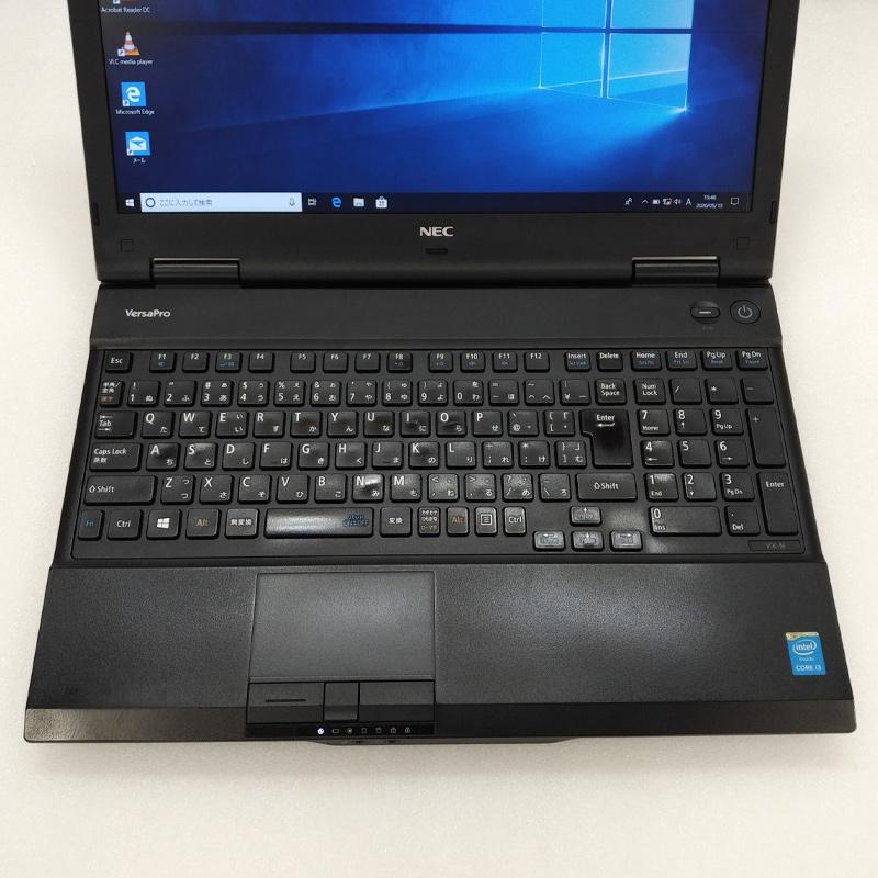 テンキー付き 中古ノートパソコン 【 Microsoft Office ( Word Excel )搭載】 Windows10Pro NEC VersaPro VK25L/X-N Core i3-2.5Ghz メモリ4GB HDD500GB DVDマルチ 15.6型 (IN53tmof) 3ヵ月保証 中古パソコン