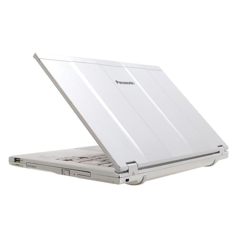 中古ノートパソコン 【 Microsoft Office ( Word Excel )搭載】 Windows10 Panasonic Let's note CF-LX3 Core i5-2Ghz メモリ4GB HDD250GB DVDマルチ 14型 無線LAN WEBカメラ (LP35m-10cWiof) 3ヵ月保証 中古パソコン