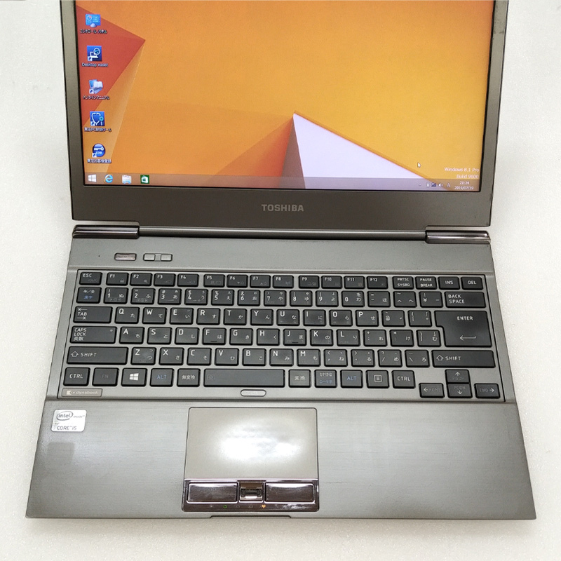 中古ノートパソコン Windows8.1 東芝 Dynabook 632/G Core i5-1.8Ghz メモリ4GB SSD128GB 13.3型 無線LAN WPS Office (AT268sWi) 3ヵ月保証 中古パソコン