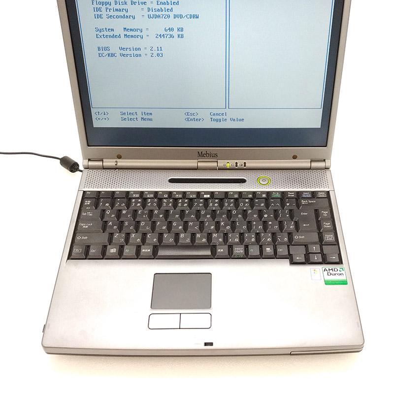 【ジャンク品】 SHARP Mebius PC-GP1-C7T ジャンクPC ジャンクパソコン 【ACアダプタ付き】 保証無し