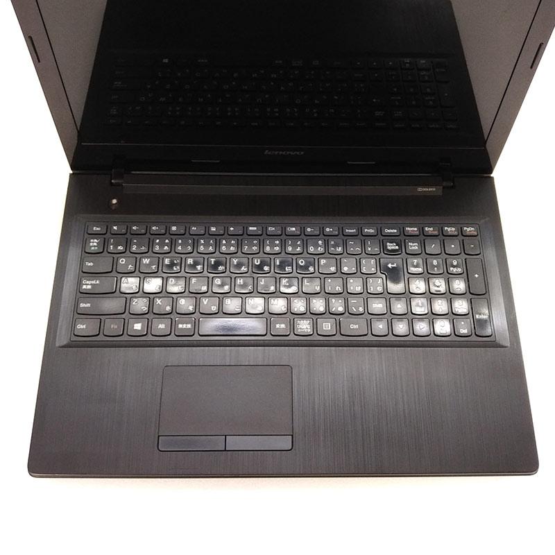 中古ノートパソコン Lenovo G50  Windows10 E1-6010 メモリ4GB HDD500GB DVDマルチ 15.6型 無線LAN WPS Office (1796) 3ヵ月保証 / 中古パソコン