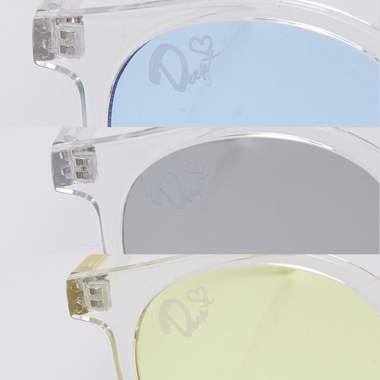 【SALE】DEEP Icon Print Clear Frameサングラス
