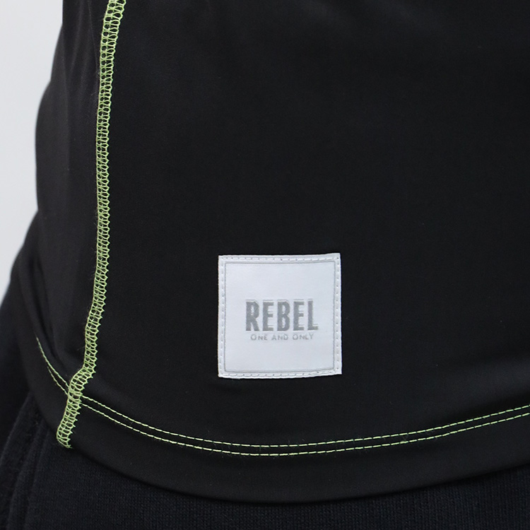 【SALE】RebeL Color Stitch toprebel半袖ラッシュガード