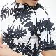 【SALE】RebeL Palm tree Pattern半袖ラッシュガード