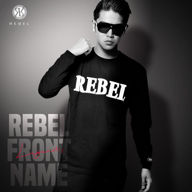 【SALE】RebeL フロントネームロンT2018